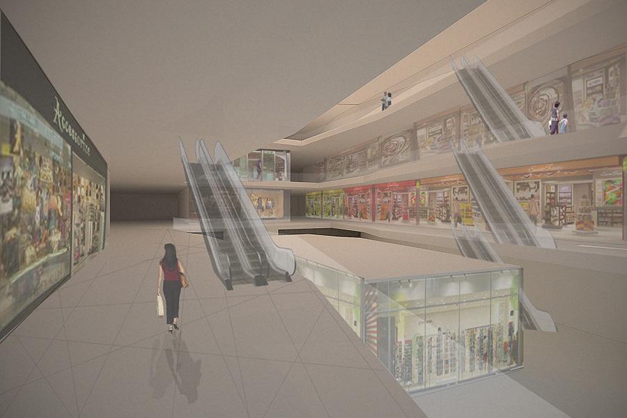 Edificio Centro Comercial en Ghana