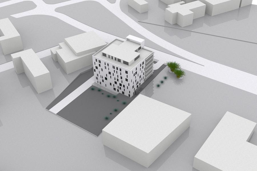 Edificio de Oficinas en Ghana