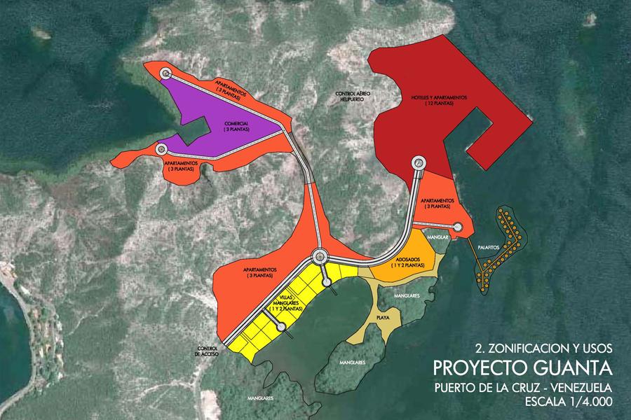 Proyecto Turístico Guanta-Marina en Venezuela